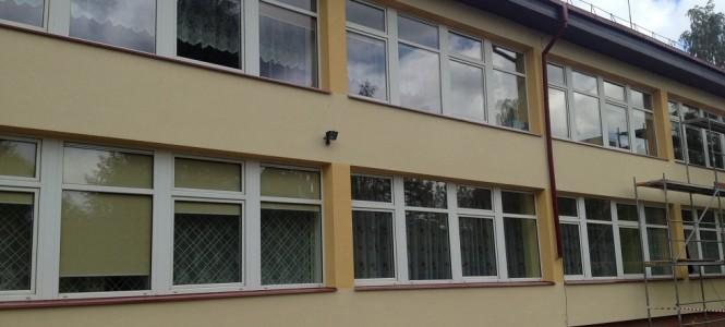 Vaikų lopšelio-darželio Kupiškyje fasado ir cokolio apšiltinimo darbai